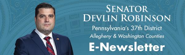 Senator Devlin Robinson E-Newsletter
